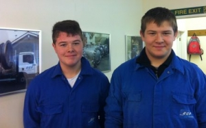 Young Apprentices join the ECF Team